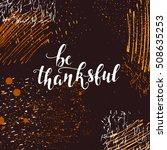 vector happy thanksgiving...   Shutterstock .eps vector #508635253