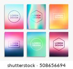 brochure or flyer layout in a4... | Shutterstock .eps vector #508656694
