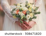 beautiful bouquet of different... | Shutterstock . vector #508671820