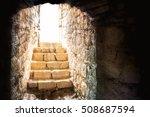 resurrection of jesus christ.... | Shutterstock . vector #508687594