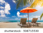 beautiful beach background for... | Shutterstock . vector #508715530