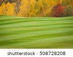 the golf course. autumn | Shutterstock . vector #508728208