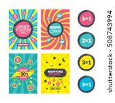 sale website banner templates.... | Shutterstock .eps vector #508743994