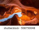 Antelope Canyon In Arizona  Usa.