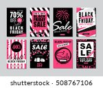 set of templates banners for... | Shutterstock .eps vector #508767106