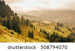 rucar bran route in romania ... | Shutterstock . vector #508794070