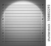 police mugshot  | Shutterstock .eps vector #508802293