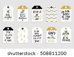 collection of stylish black... | Shutterstock .eps vector #508811200