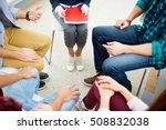 team of psychologists | Shutterstock . vector #508832038