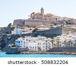Views Of The Ibiza Fortress An...