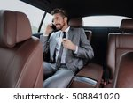 young businessman having a... | Shutterstock . vector #508841020