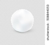 snowball isolated on... | Shutterstock .eps vector #508844053