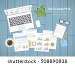 data analysis concept.... | Shutterstock .eps vector #508890838