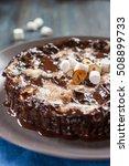 "chocolate cake ""mississippi mud""...   Shutterstock . vector #508899733"