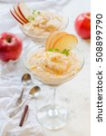 fresh homemade applesauce ...   Shutterstock . vector #508899790