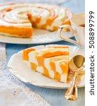 casserole with pumpkin and...   Shutterstock . vector #508899799