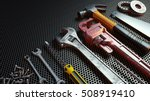 close up tools .3d rendering. | Shutterstock . vector #508919410