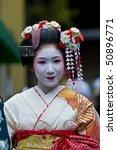 Kyoto   Oct  22  A Participant...