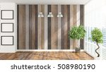 modern empty interior . 3d... | Shutterstock . vector #508980190