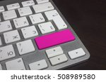 keyboard with pure color button.... | Shutterstock . vector #508989580