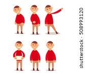 schoolboy. design work and... | Shutterstock .eps vector #508993120