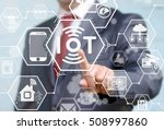 internet of things  iot ... | Shutterstock . vector #508997860