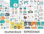 medical infographic elements... | Shutterstock .eps vector #509003464