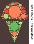 icecream shape vector design by ...   Shutterstock .eps vector #509011126