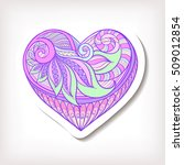 fashion patch badges with... | Shutterstock .eps vector #509012854