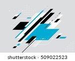 vector of modern geometrical...   Shutterstock .eps vector #509022523