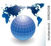 globe | Shutterstock .eps vector #50902438