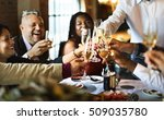 restaurant chilling out classy... | Shutterstock . vector #509035780