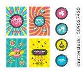 sale website banner templates.... | Shutterstock .eps vector #509037430