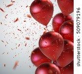 vector festive illustration of... | Shutterstock .eps vector #509079196