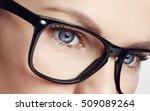 macro shot of female face... | Shutterstock . vector #509089264
