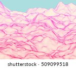 wavy linear colorful procedural ... | Shutterstock .eps vector #509099518