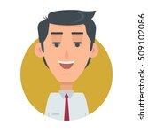 successful man avatar web... | Shutterstock .eps vector #509102086