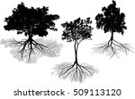 illustration with trees... | Shutterstock .eps vector #509113120