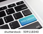 web design   close up green...