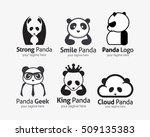 panda logo design template. | Shutterstock .eps vector #509135383