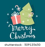 vector illustration of colorful ... | Shutterstock .eps vector #509135650