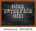 user interface ui handwritten...