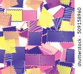 geometric modern seamless... | Shutterstock .eps vector #509158960