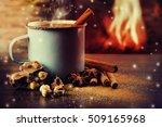 Vintage Mug Of Hot Chocolate...