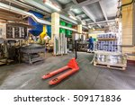 the truck in the shop the... | Shutterstock . vector #509171836