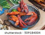 Fresh Grilled Lobcter Claws At...