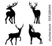 deer   vector   illustration | Shutterstock .eps vector #509188444