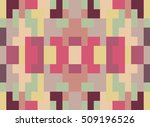 techno abstract background.... | Shutterstock .eps vector #509196526