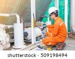 electrician operator inspect...   Shutterstock . vector #509198494