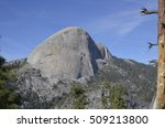 Half Dome From Panorama Trail...